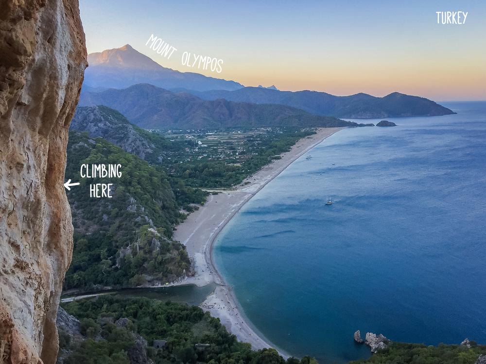Mount Olympos Turkey