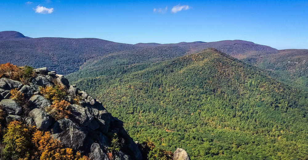 Old Rag Mountain summit, Virginia