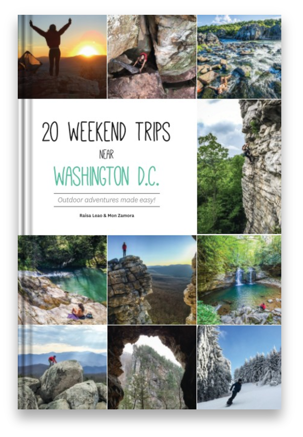 20 weekend trips near Washington D.C.