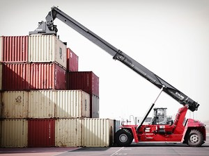 REACHSTACKER CONTAINER HANDLERS