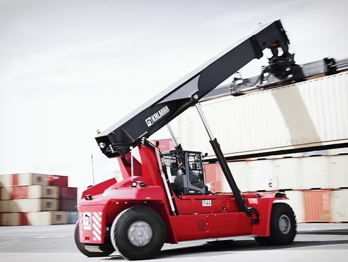 Kalmar Reach Stacker Container Handler