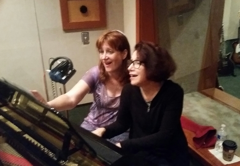 CHERI & DIANE AT STUDIO WEST.JPG