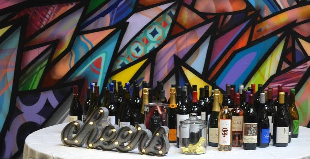 2016 Wine Raffle Cellar