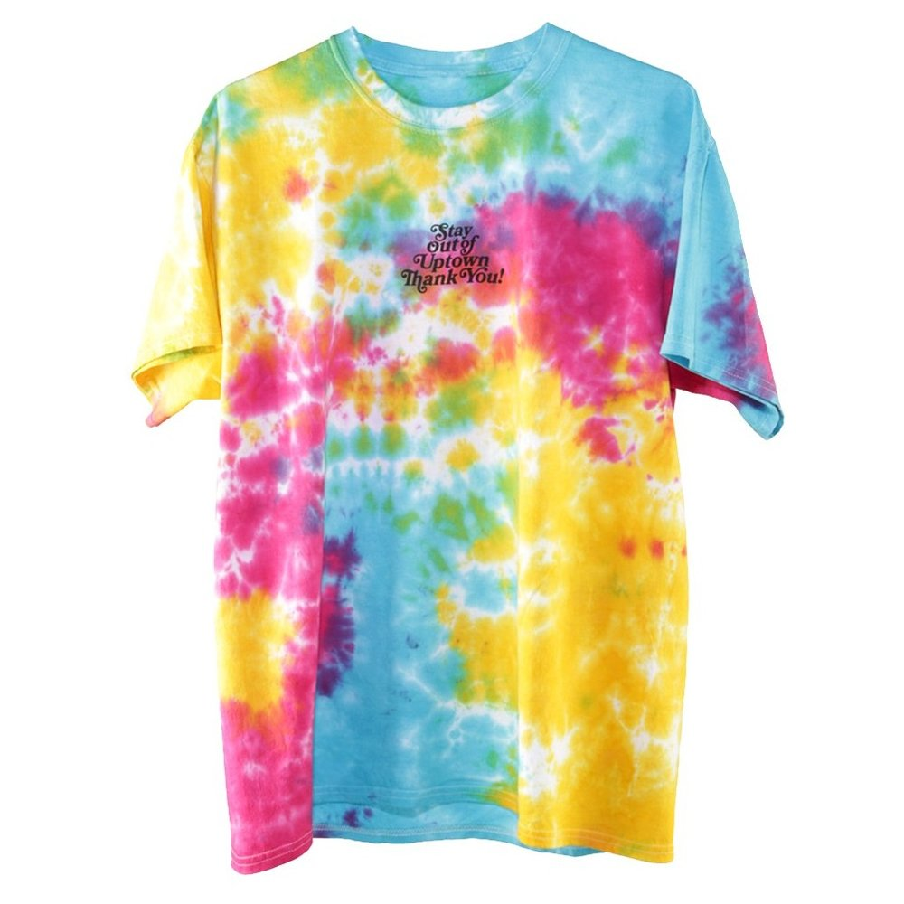 Stay Out of Uptown Tie Dye T-Shirt - Perico Limited