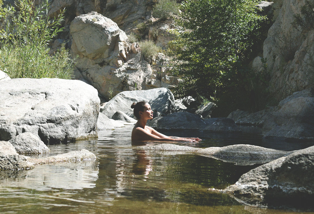 deep creek hot springs - melrose journal