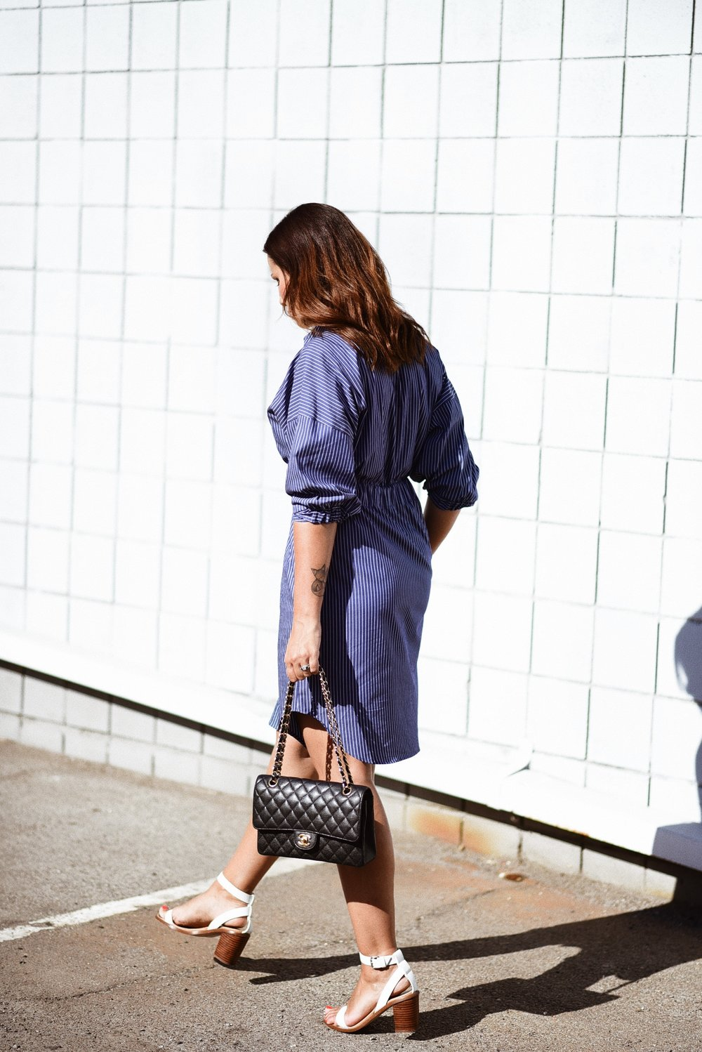 baby-shower-outfit-zara-shirt-dress