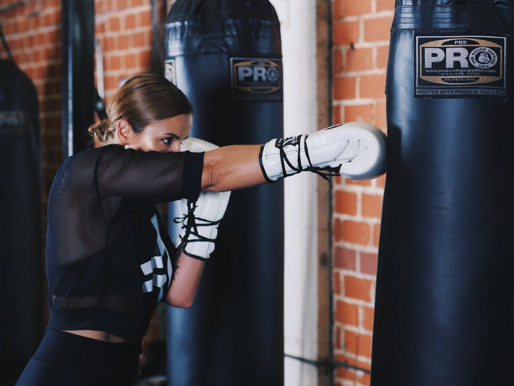 Staying In Shape With Preval Boxing & Ultracor Active Wear