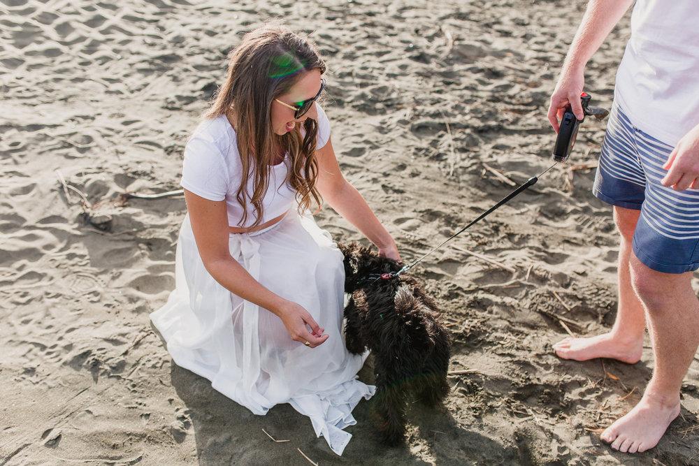 New Zealand - Auckland Wedding Photographer - Engagement - Bethells Beach - Alexandra & Lee - Love, the wild & epic tales