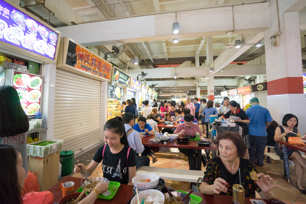 FOOD, GLORIOUS FOOD!   Bugis is also home to a huge variety of food, ranging from cheap and terrific hawker fare at Albert Center Hawker just 2 minutes away to more international cuisine like tasty Mediterranean influenced restaurant Artichoke nested in Middle Road.