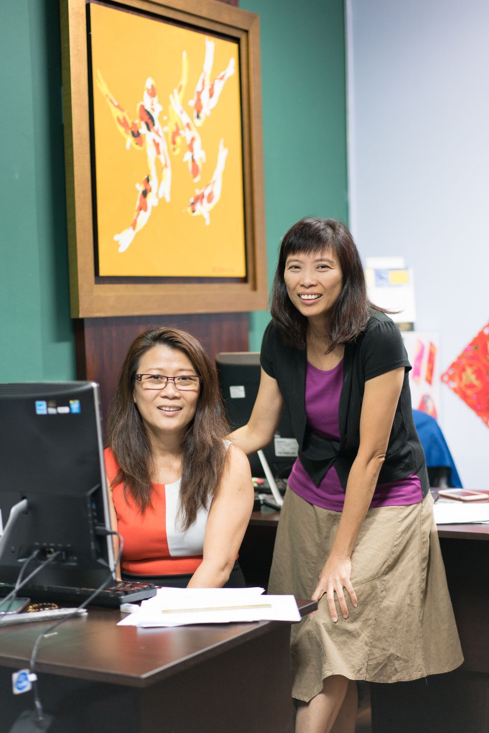 """Office 96 lets us focus on our business because it's a serviced office and I don't have to worry about maintenance and things like that. It's very convenient to get around and find good and cheap local food!"" Annie and Marine Lam Annie Think Bookkeeping Pte Ltd and Annie Think Consultancy Pte Ltd."