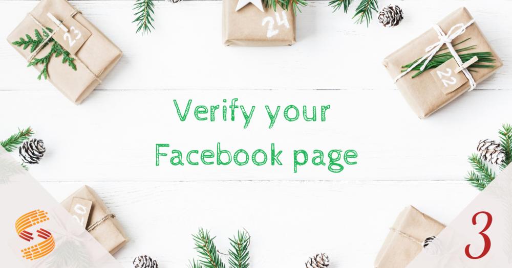 How Do I Verify My Facebook Page?