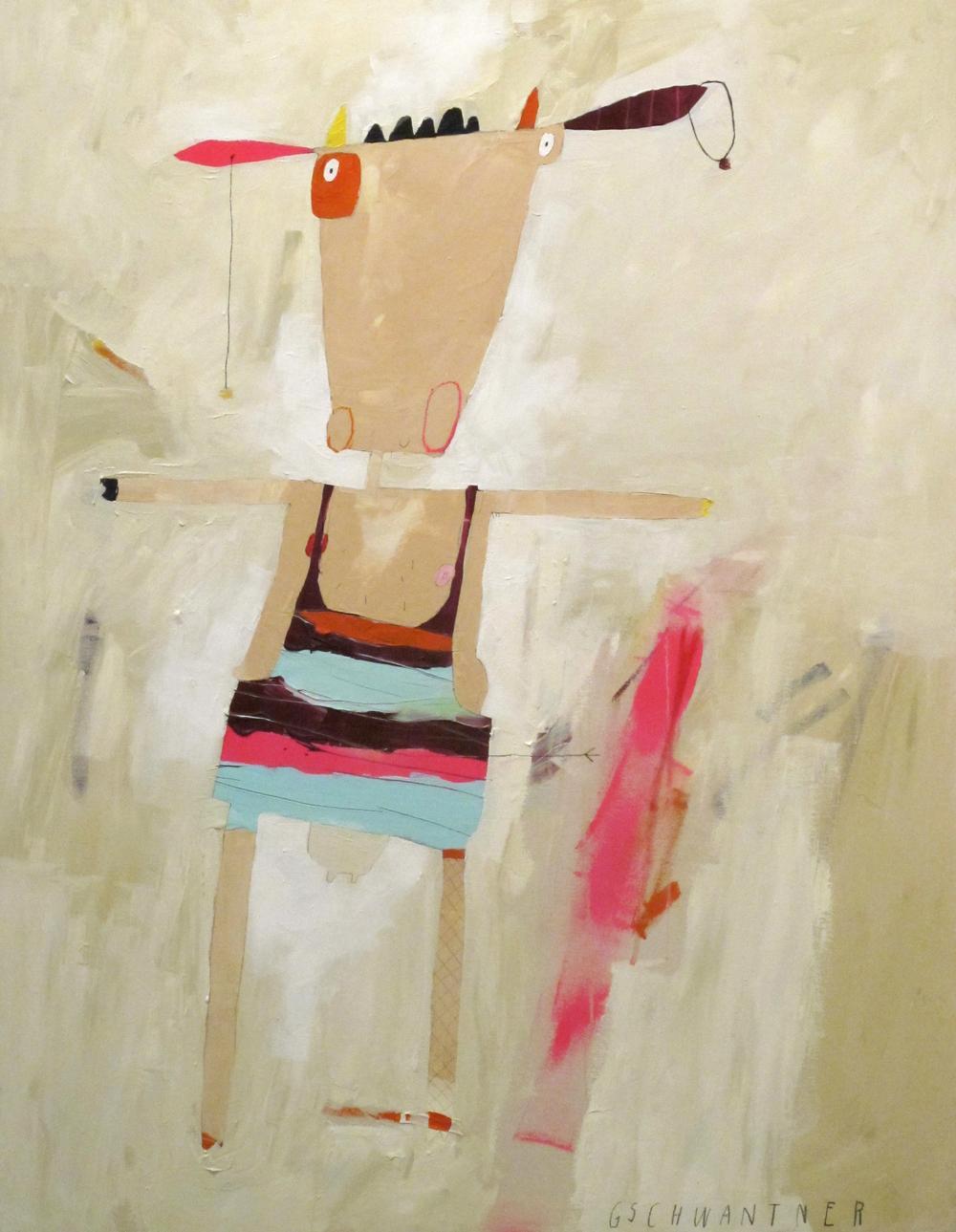 Pan mit Flinserl, 2015, 133 x 103