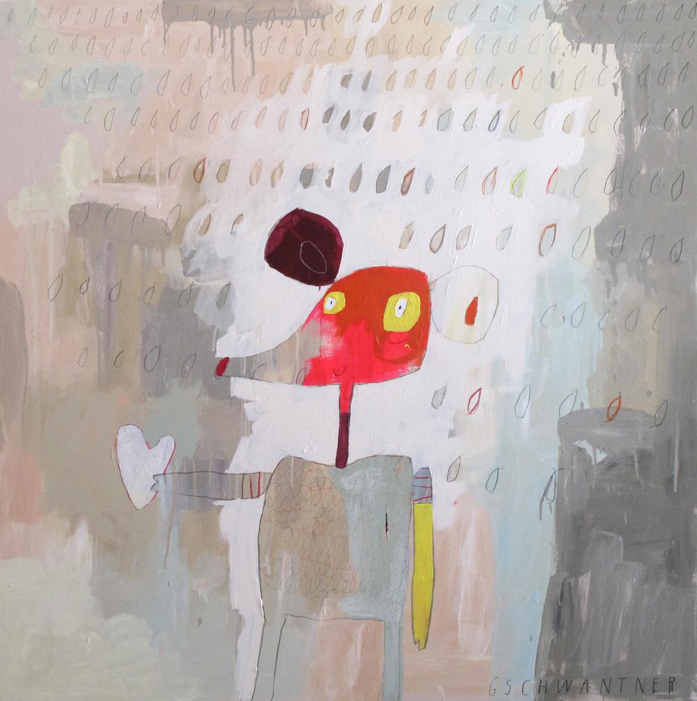 Maus mit Herz, 2014, 135 x 135