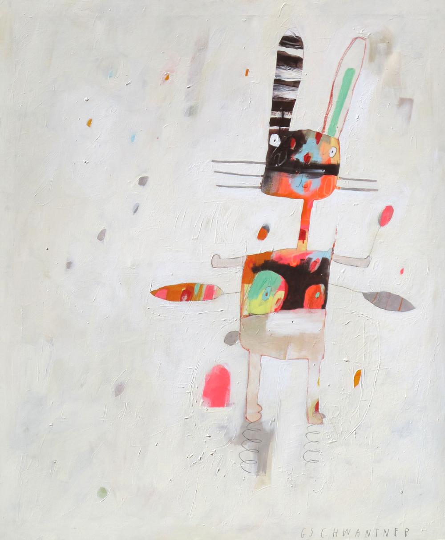 Fliegendes Hasenhäschen, 2014,115 x 105