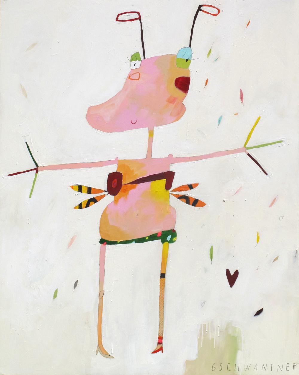 Zuversichtline, 2012, 115 x 145