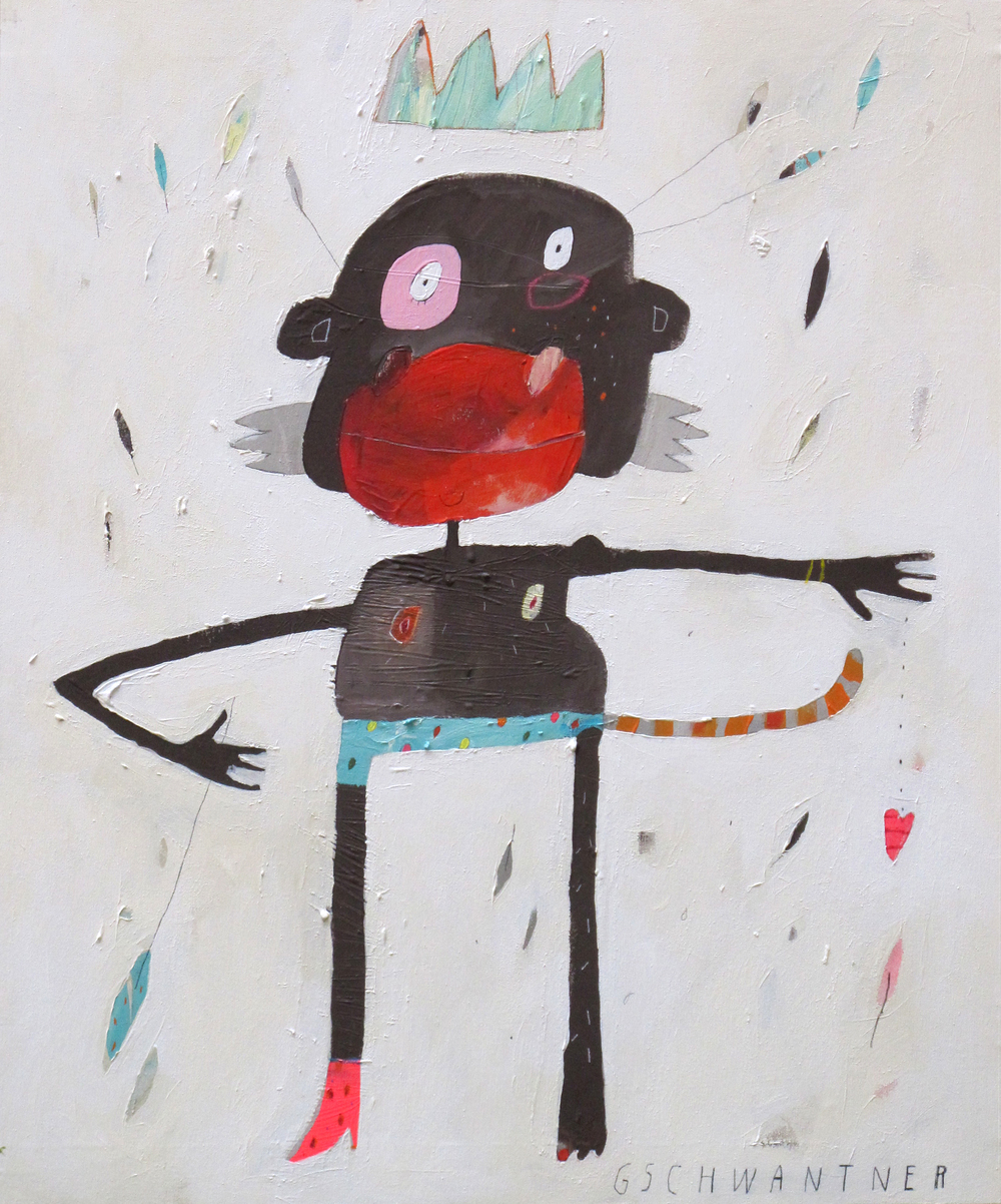 Little Monkey King, 2011, 78 x 94