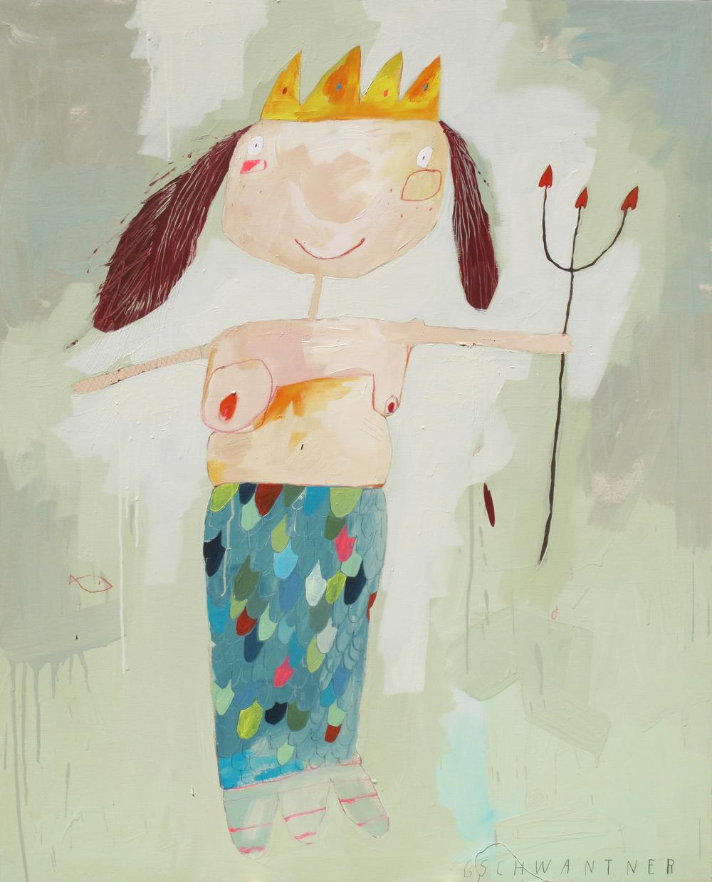 Meerjungfrau, 2012, 103 x 133