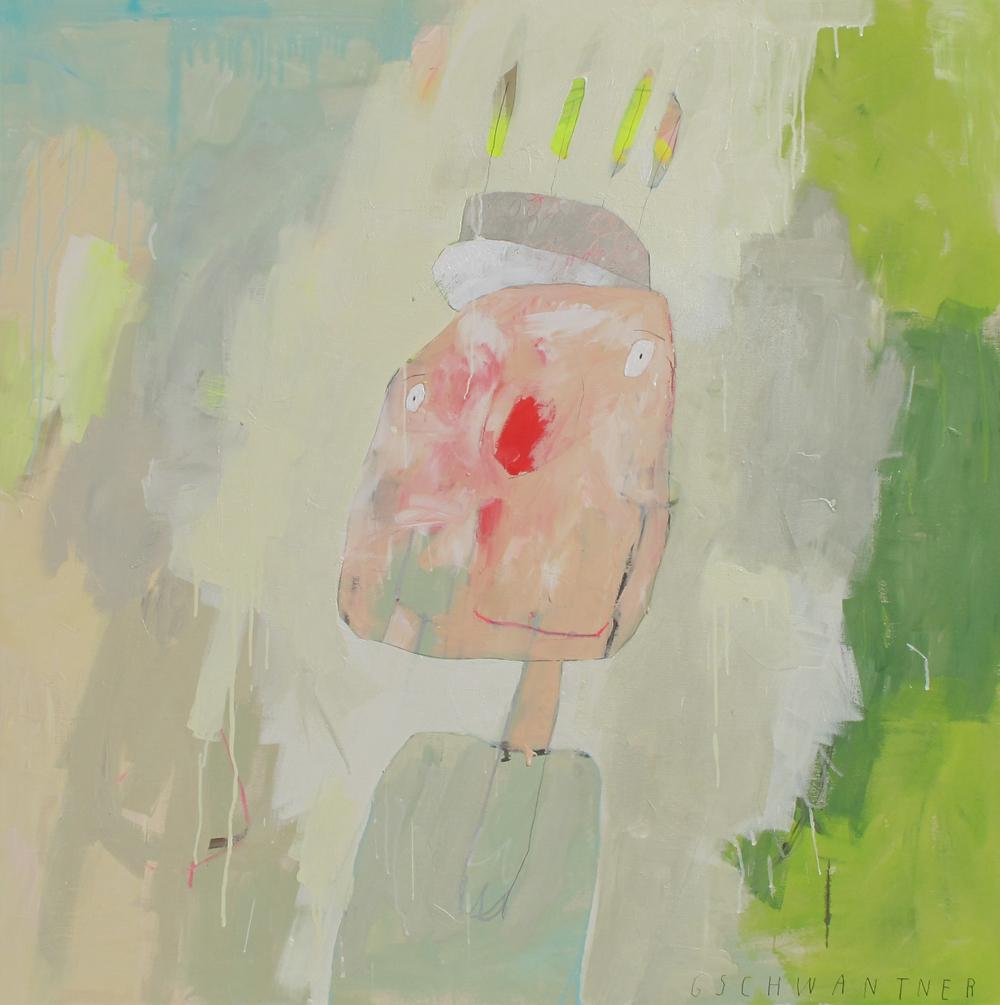 Glitzerfunke, 2010, 145 x 145