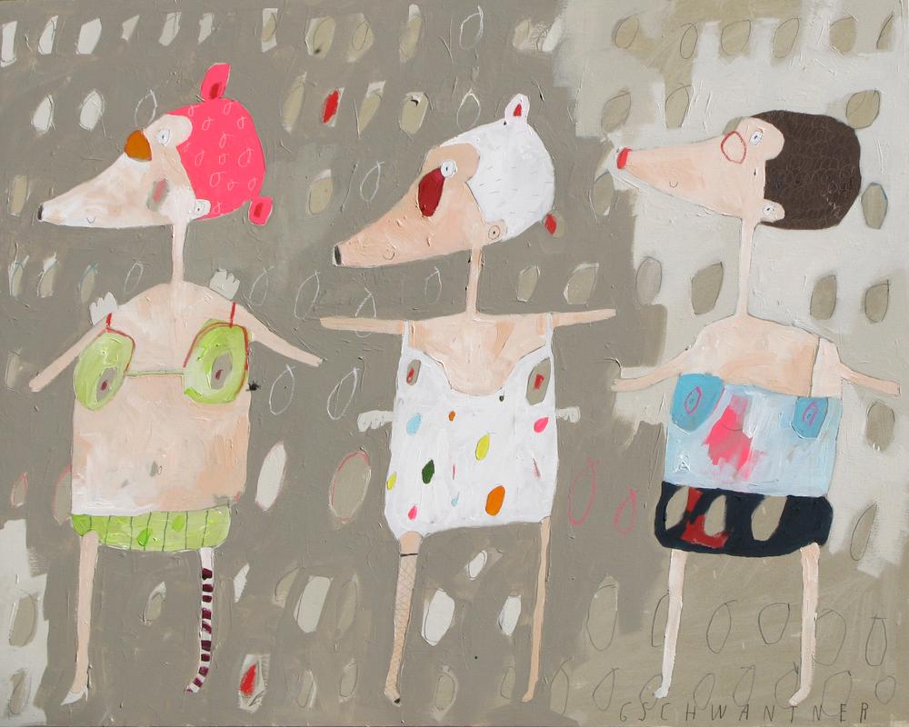 Bikinimäuse, 2009, 145 x 115