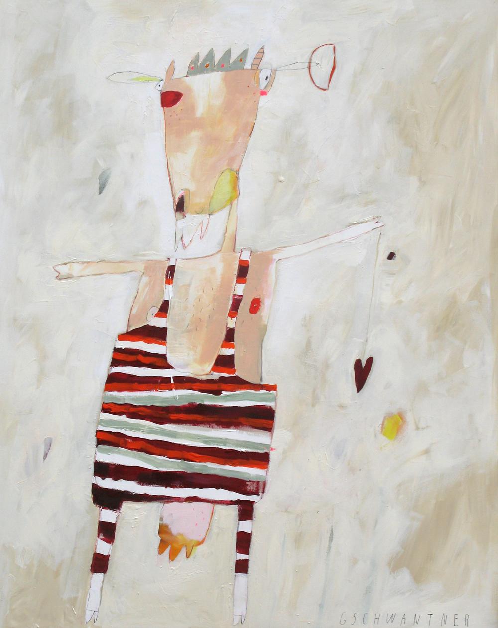 Pan im Schlafanzug, 2008, 115 x 145