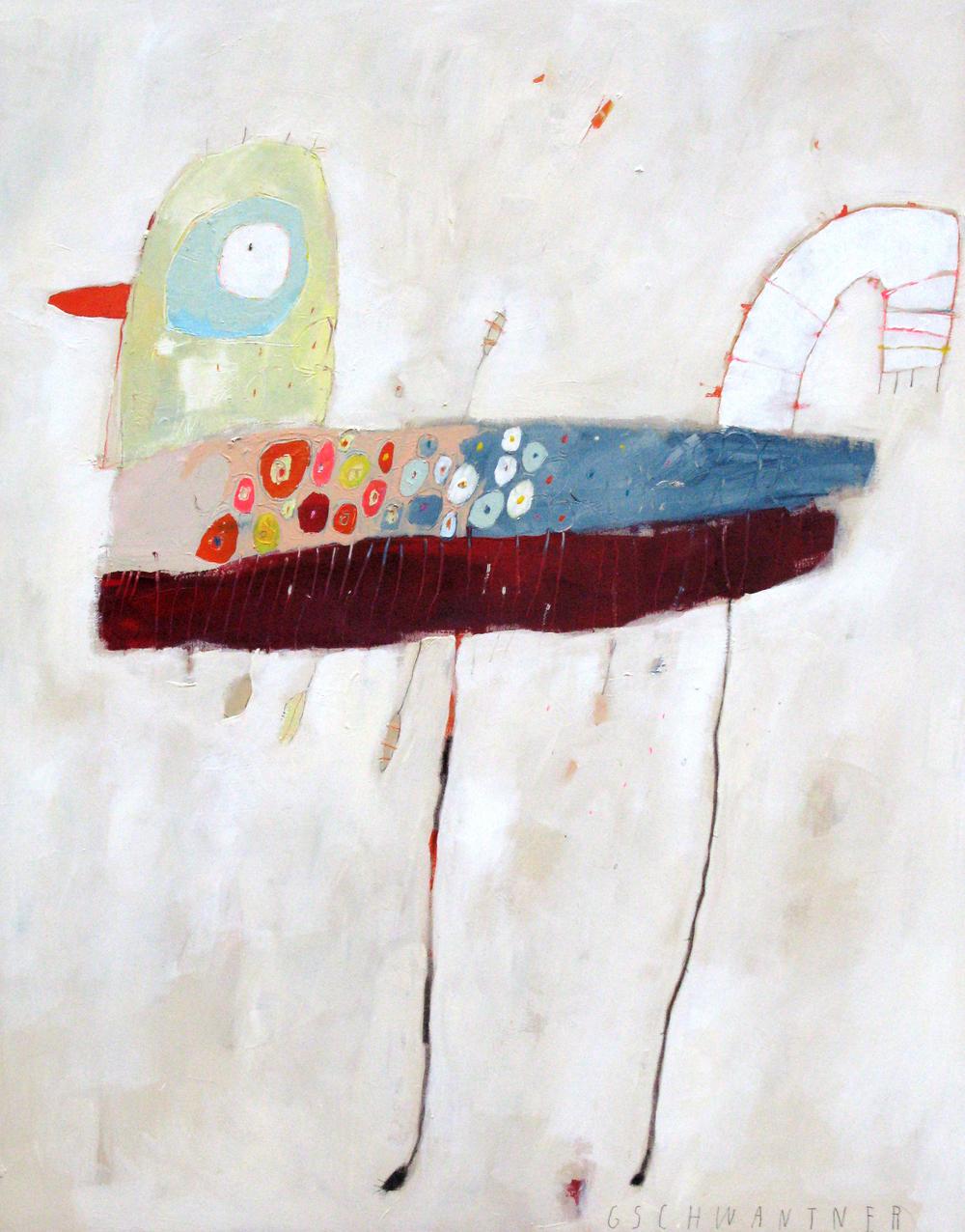 Vogelprinzess, 2008, 115 x 145