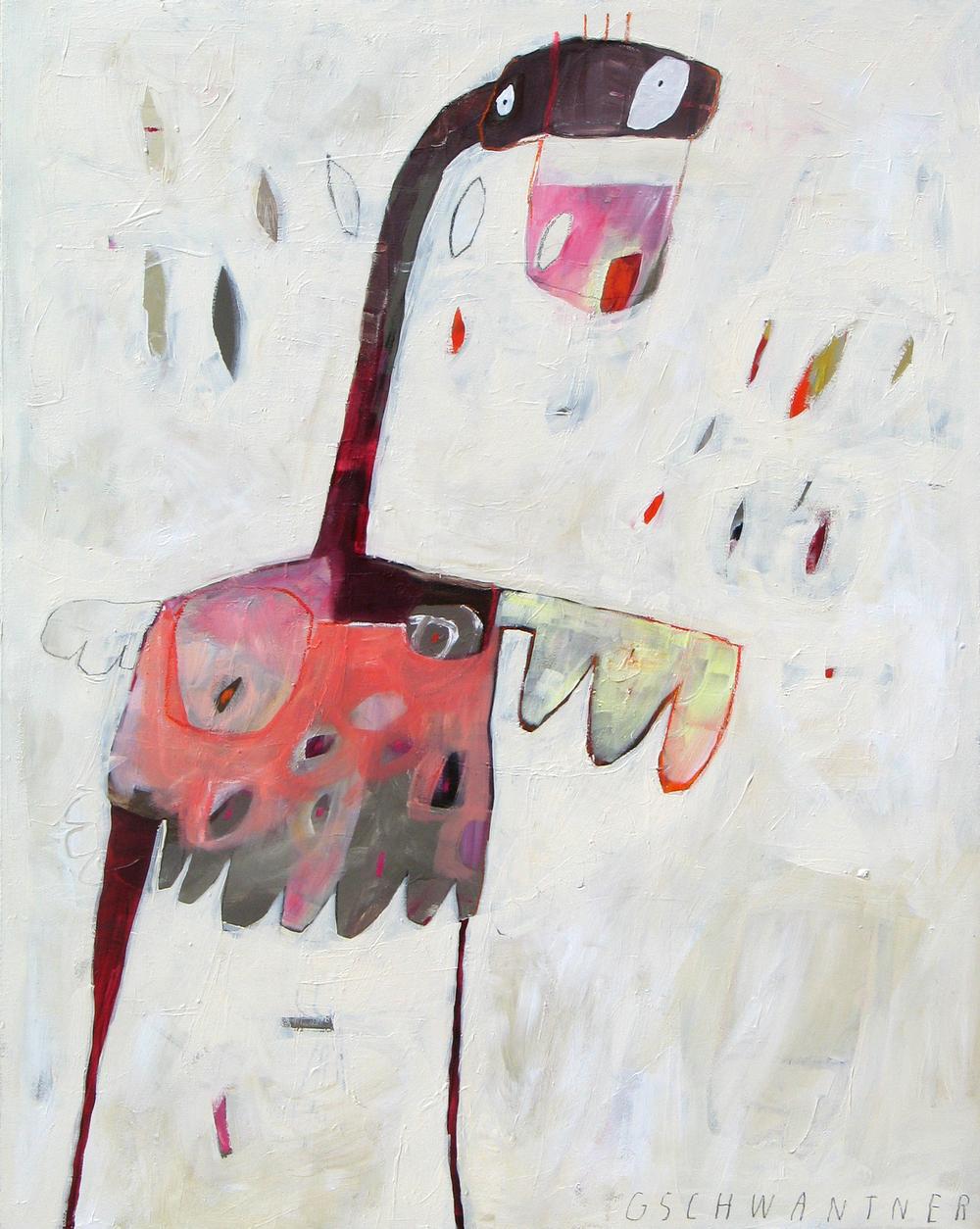 Entenfrau, 2006, 112 x 87