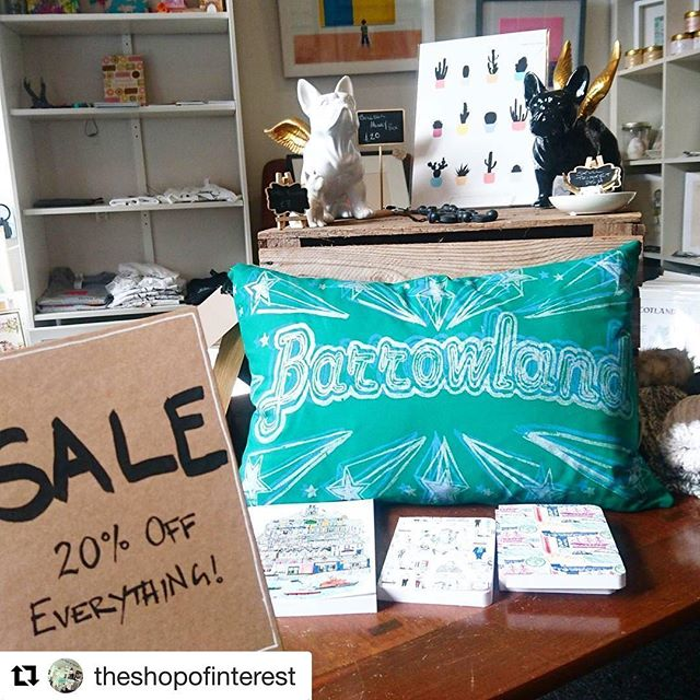 #Repost @theshopofinterest (@get_repost) ・・・ SALE!! We were a bit slow this year getting our January sale up and running but it's worth the wait. Theres a minimum of 20% off everything in the shop with many prints with a massive 60/70% off!  Paintings, prints, jewellery and gifts... Maybe get your valentine's gifts in early? #sale #shopping #gifts #Finnieston #Glasgow #Scotland