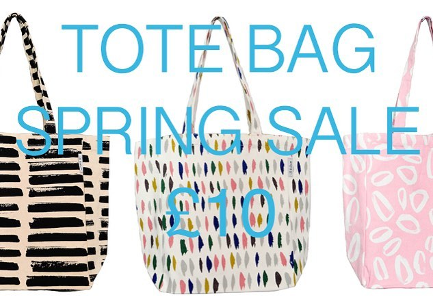 To celebrate the fact it's almost like spring today.  I am having a sale of Tote Bags.  Were £25 now £10 with free shipping.  #textiles #sale #madeinglasgow #shoplocal #totebag #springsale #stripes #pink #glasgow #scotland #almostsummer #urbanmarket #bags #shopping