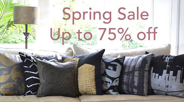 I spent a lot the snow days last week unpacking boxes which I have been meaning to do since I moved in (in September 🙃). I have lots of one off cushion and odd bits and pieces so though I would have a wee spring sale.  http://jillkirkham.co.uk/sale  #springsale #interiordesign #textiles #screenprinting #glasgow #madeinscotland #shoplocal #jillkirkham #snowdays #sale #totebags