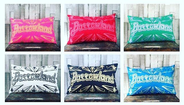 All barraz cushions back in stock!  http://jillkirkham.co.uk/cushions/  #happyfriday #barraz #barrowlands #glasgow #madeinglasgow #scotland #gigs #jillkirkham #textiles