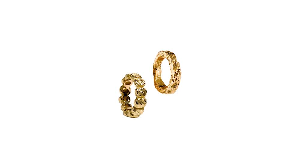 Bague de pouce jour, or jaune 18 carats  |  Bague de pouce in, or jaune 18 carats.