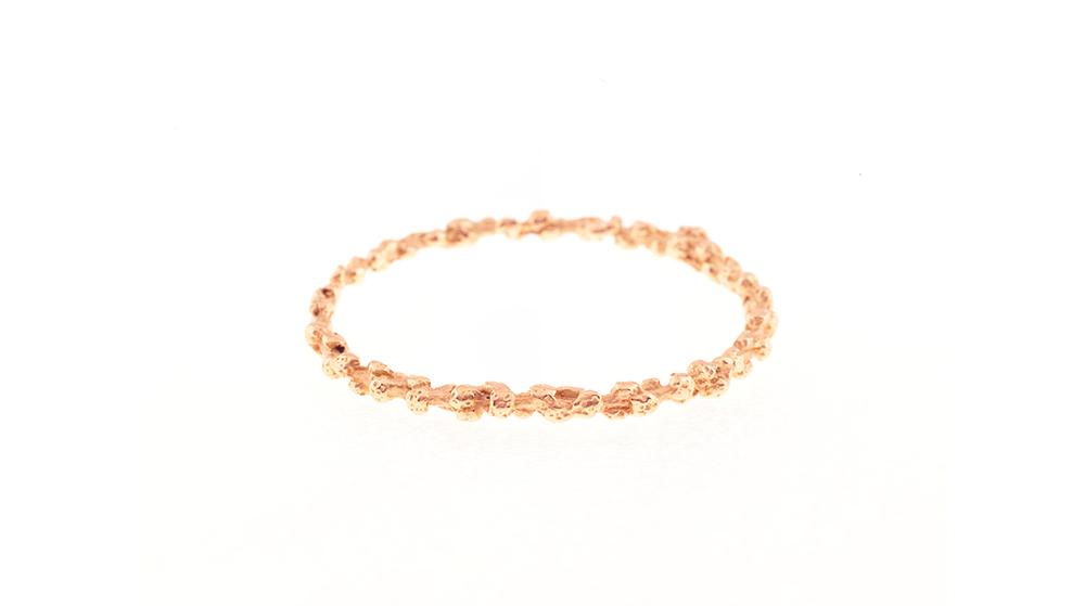 Bracelet, or rose 18 carats.