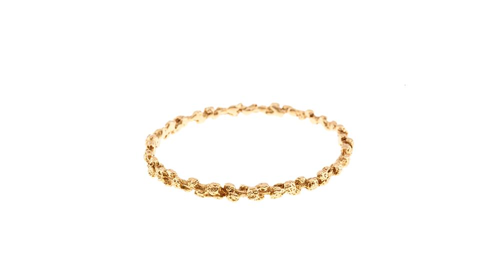 Bracelet, or jaune 18 carats.