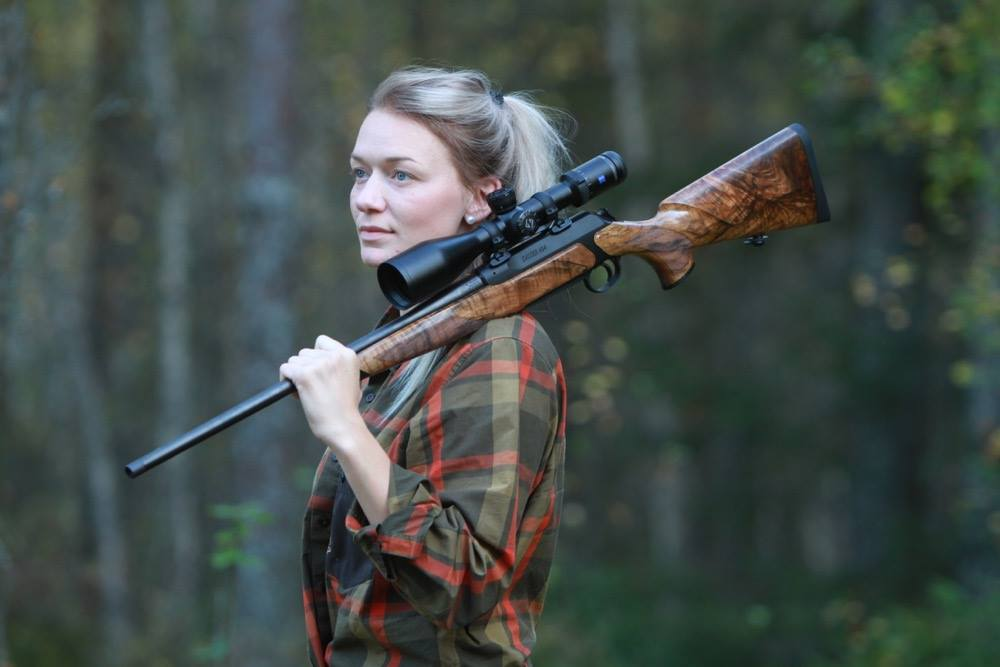 Anette means that a well prepared hunt makes her appreciate the nature even more