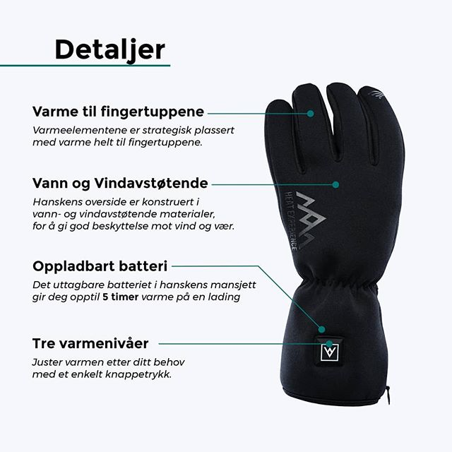 Today is the last chance for our norwegian customers to save 50% on our heated gloves 🤗 visit http://startskudd.heatx.no to learn more.