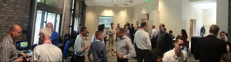 Networking and business speed dating at the Startup Exchange