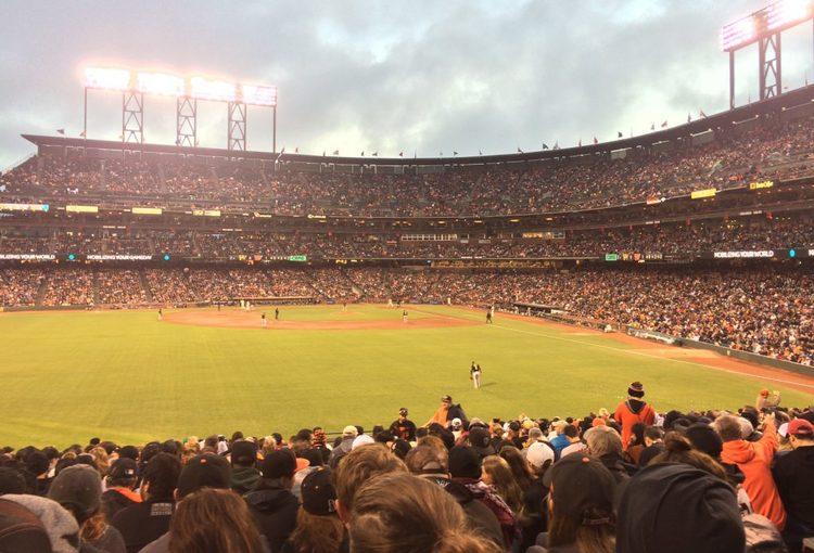 San Francisco vs Pirates baseball game at AT&T Park