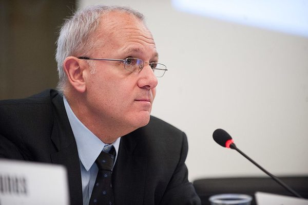 Jean-Yves Le Gall, the current president of the French space agency CNES, will also become president of the International Astronautical Federation at the end of this month. (credit: L. Jeitler / ITU)
