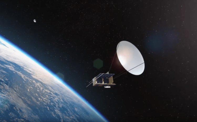 Israeli startup, SkyFi, would deploy 60 nanosatellites around the world to enable global communications coverage with adjustable signal relays (screenshot, YouTube)