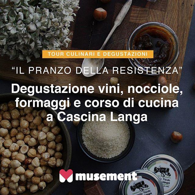Regalati un'esperienza culinaria in vero stile Piemontese... vieni a conoscere la storia di #cascinalanga, partecipa al nostro #pranzo della #resistenza con i salumi locali, i formaggi e i dolci a base di #nocciola. Partecipa ai mini corsi di cucina piemontese o alle #degustazioni di vino come #dolcetto o #barbera.. Vai su #musement.com e cerca Cascina Langa! / #verilymoments #picoftheday #instagood #love #langhe #italy #cascinalanga #musementpic #travel #culinary #experience