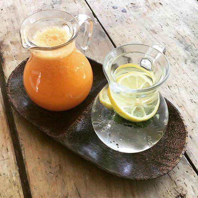 Against hot temperature, extracts of organic fruit and vegetables and fresh drinks 🌞 - #cascinalanga #spa #extract #organic #fruit #vegetables #hammam #langhe #wood #fresh #picoftheday #instagood #instadaily