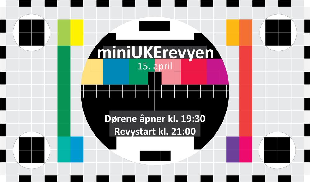 The miniUKE revue April 15th. Doors open 19.30.The revue starts 21.00.