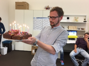 First birthday of the lab!