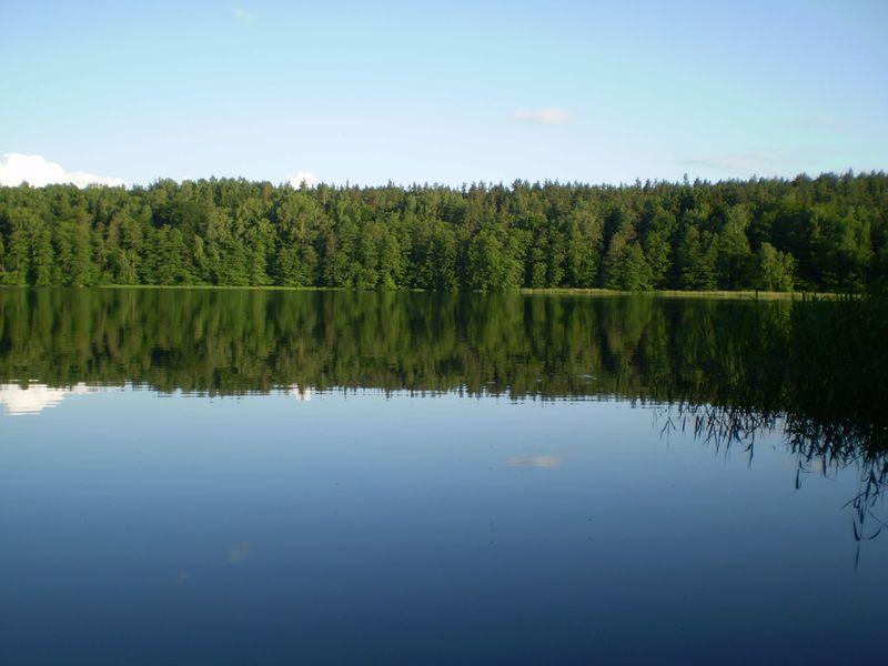 Stare Jablonki Jezioro Szelag Maly