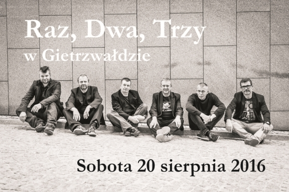 Koncert zespołu Raz Dwa Trzy w Gietrzwałdzie