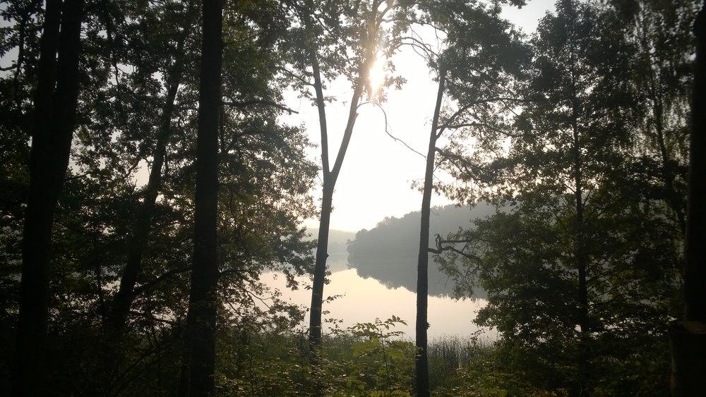 Długi weekend nad jeziorem Szeląg Mały