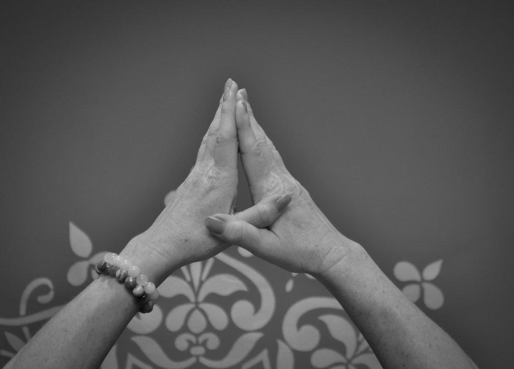 Un mélange de danse et de yoga