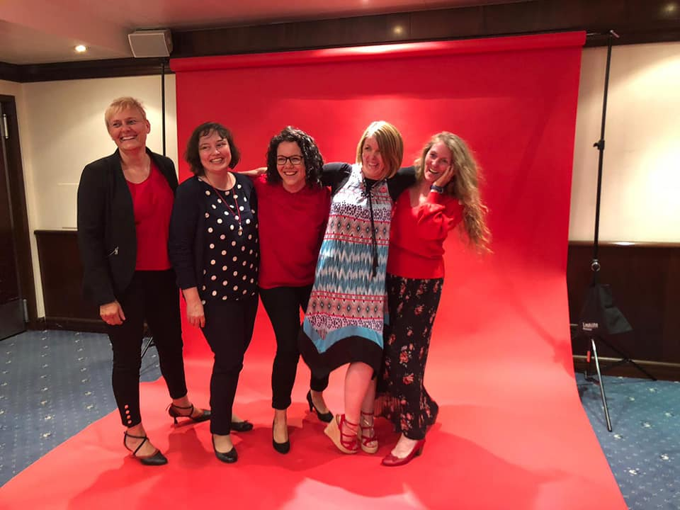My Somba Momentum Masterminder: Claudia, Eva, Selina, Jamie & me
