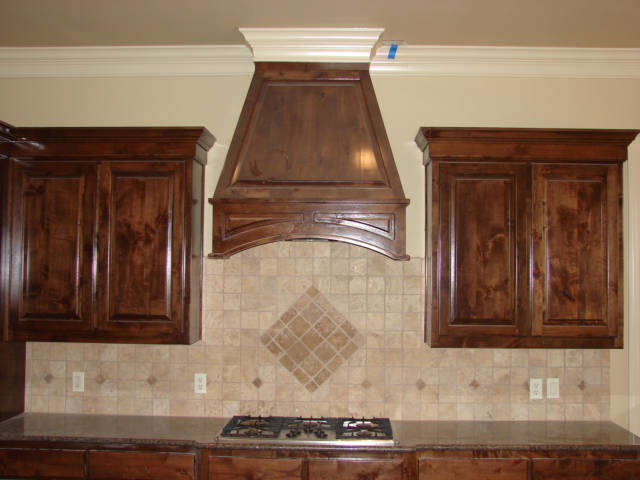 Stained Kitchens 3 Star Custom Cabinets Inc Pilot Point Tx