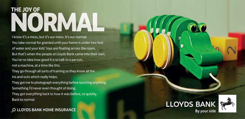 Lloyds Bank ad campaign Steve Hoskins
